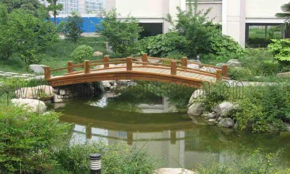 广西防腐木桥,防腐木桥制作厂家