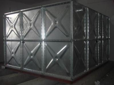 山东全焊接不锈钢水箱/装配式镀锌钢板水箱{克里访华