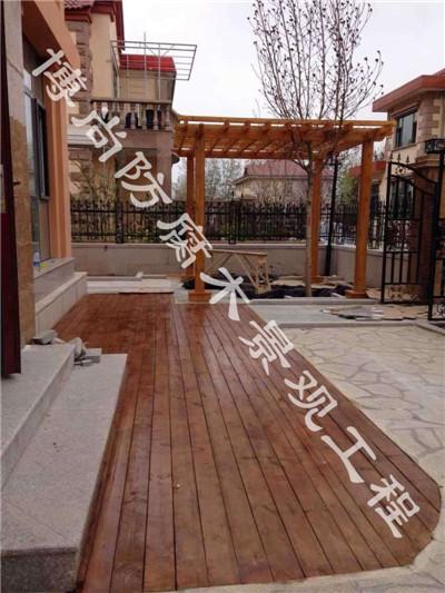 烟台碳化木烟台防腐木烟台防腐木地板