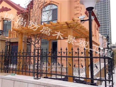 烟台防腐木凉亭——福山小区