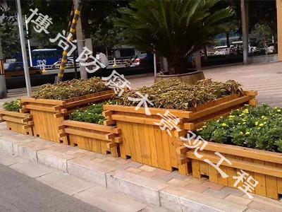 烟台防腐木|防腐木花箱