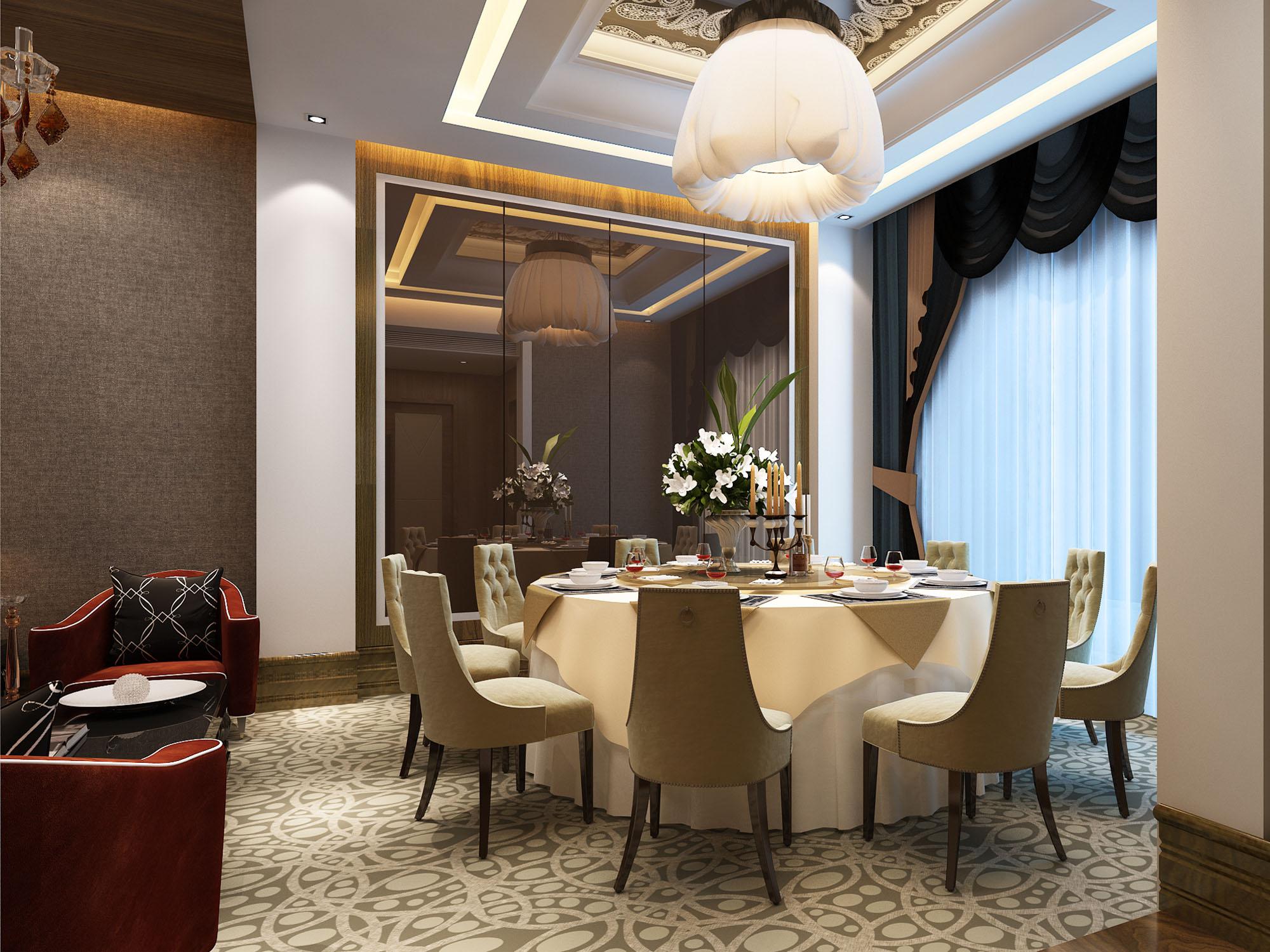 山东餐厅装修设计公司哪家专业 德州西餐厅装修设计