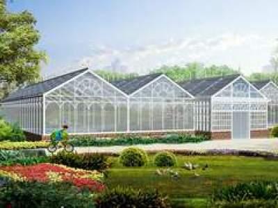 青州市利广温室工程有限公司-生态温室餐厅_高温连栋大棚_蔬菜育苗温室大棚