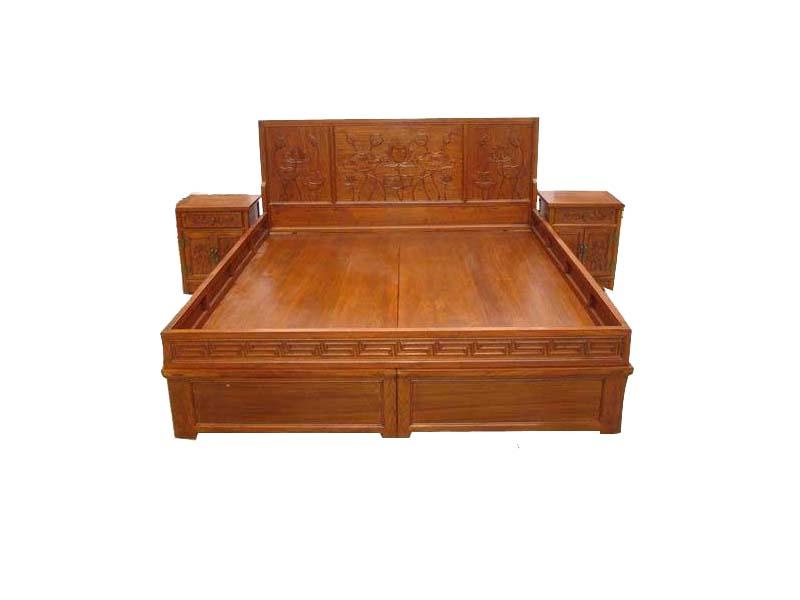 重庆老�榆木双人床――山东专♀业的老榆木双人床销售厂家在哪里