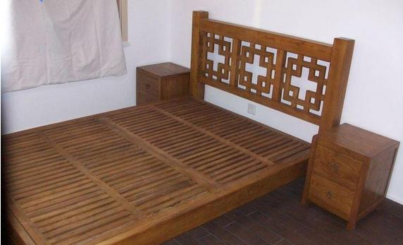 德州枣木⊙家具――选购老榆木双人床①就到明东五帝之一古典家具
