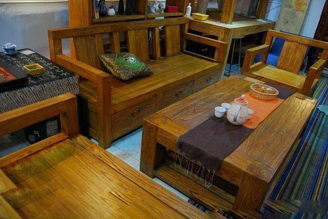 德州哪里有供品质好的酒店老榆木古典家具,门厅柜批发