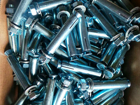 蓝白的镀锌膨胀螺栓报价-有品质的膨胀螺栓价格怎么样