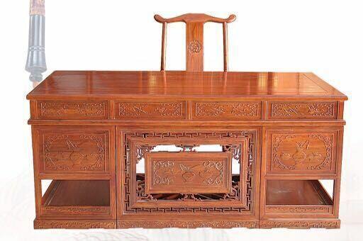 自然边电视柜经销商_价格合理的老榆木书房两件套玉堂春古典家具供应