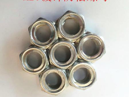 国标镀锌铁片防松螺母厂家生产