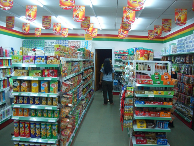平价超市装修,24小时便利店装修,小型百货超市装修