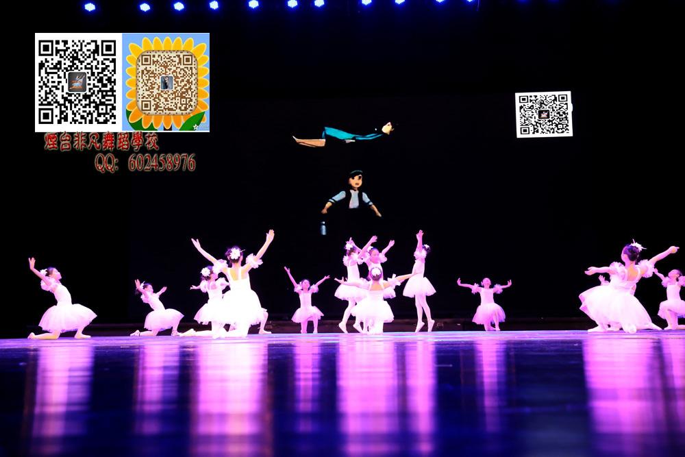 烟台舞蹈培训 3岁4岁幼儿的专业芭蕾舞培训 少儿舞蹈 艺考
