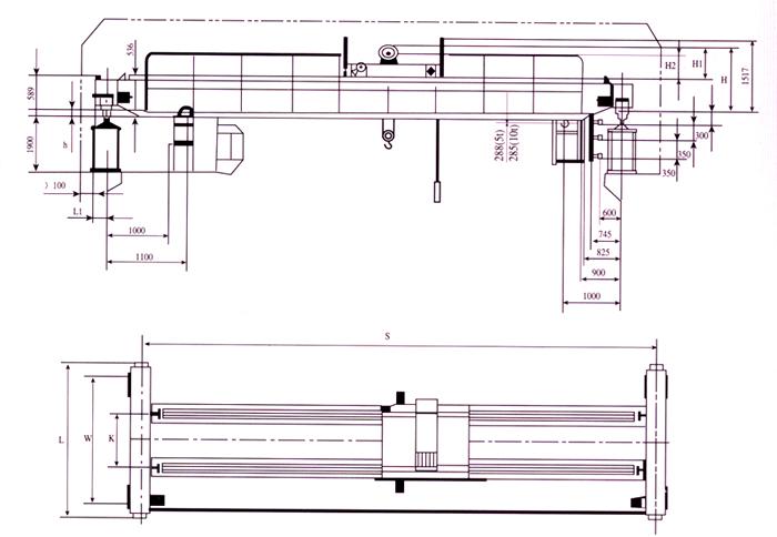 lh型电动葫芦双梁桥式起重机-258.com企业服务平台