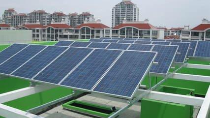 工商业建筑屋顶光伏发电系统