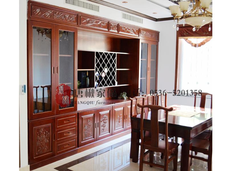 濰坊楸木餐廳-質量好的楸木酒柜供銷