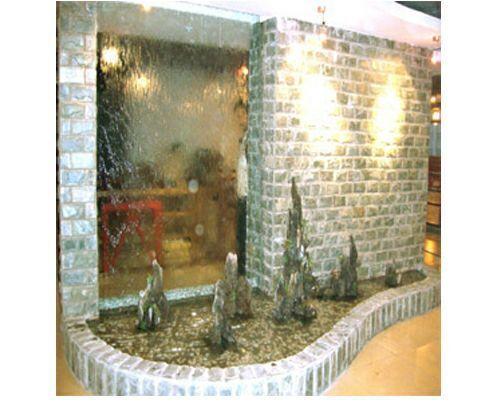 广西玻璃水幕墙 水幕墙制作