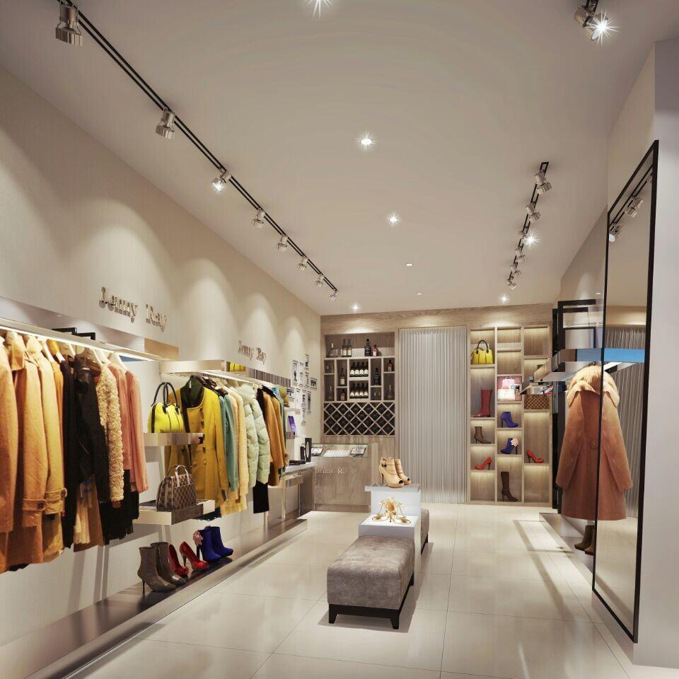 深圳女装服装店装修设计图片