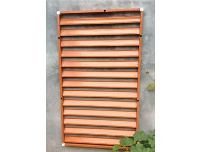 锌钢百叶窗产品特点及供应信息