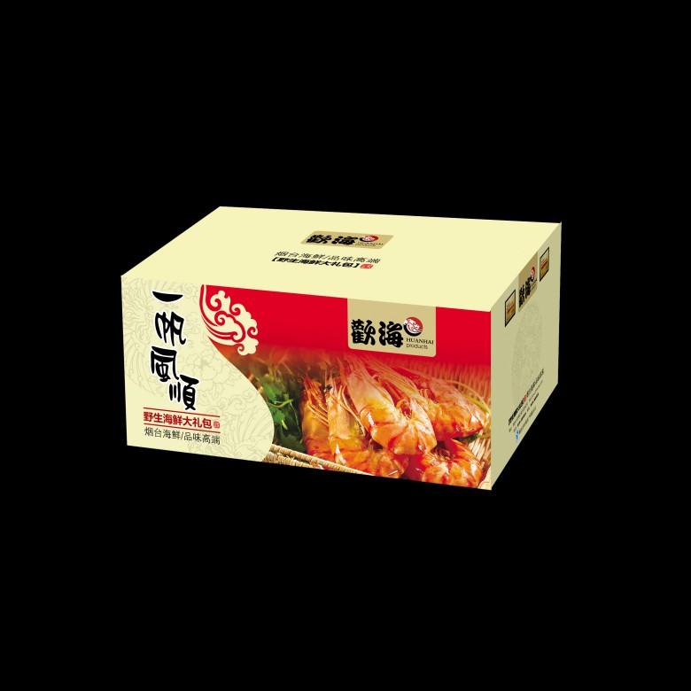 烟台海鲜礼包/烟台海产礼盒