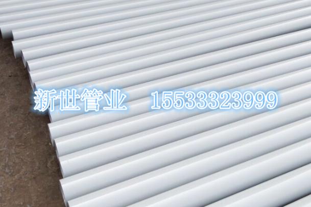 铸铁管厂家静电喷涂铸铁管大量销售