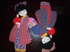 价廉物美的布艺粘贴由朝阳工艺品提供:印花鞋垫厂家