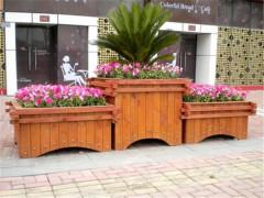 广西防腐木种植箱_划算的刚洗防腐木花盆就在百年木业