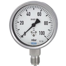 好的重庆632.50.100品质推荐-WIKA不锈钢膜盒压力表
