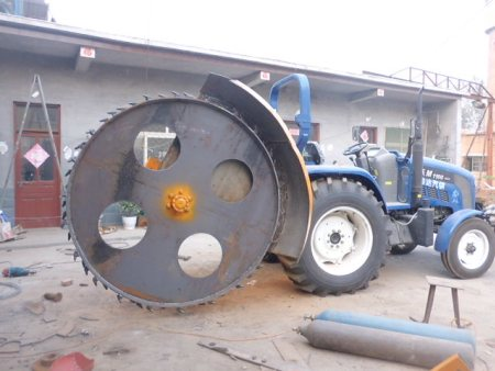 Duang 电缆开沟机生产在山东兴华机械