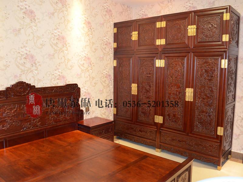 楸木卧室家具