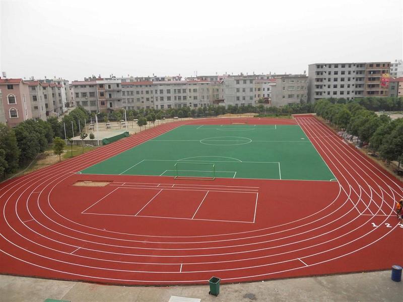 地供应优质PU塑胶跑道 广西PU塑胶球场