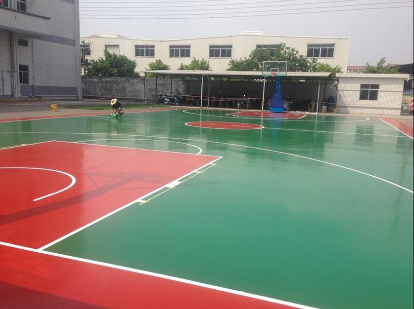 广西彩色丙烯酸球场价格|广西专业的彩色丙烯酸球场供应