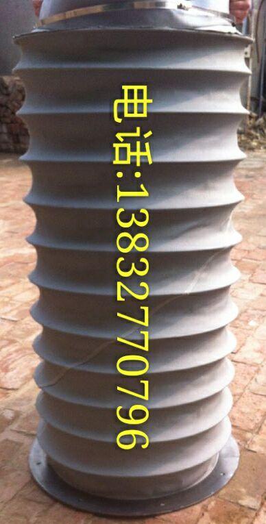 耐温伸缩丝杠防护罩 经久耐用