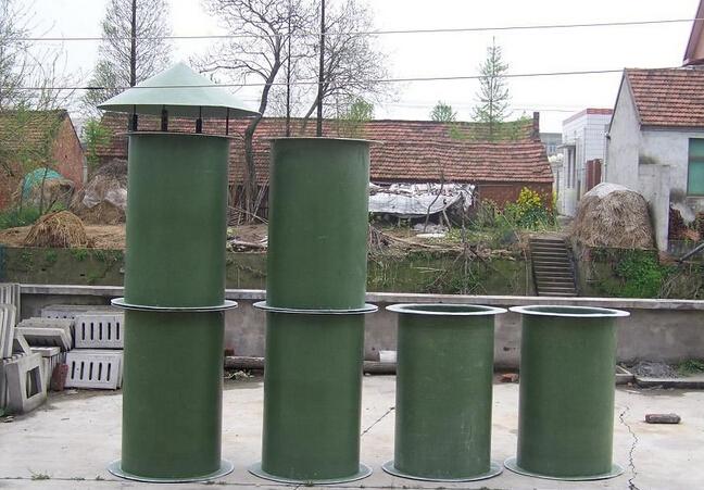 玻璃钢烟囱生产 耐腐蚀玻璃钢烟道