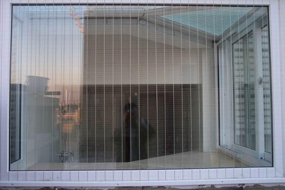 防盗防护隐形纱窗