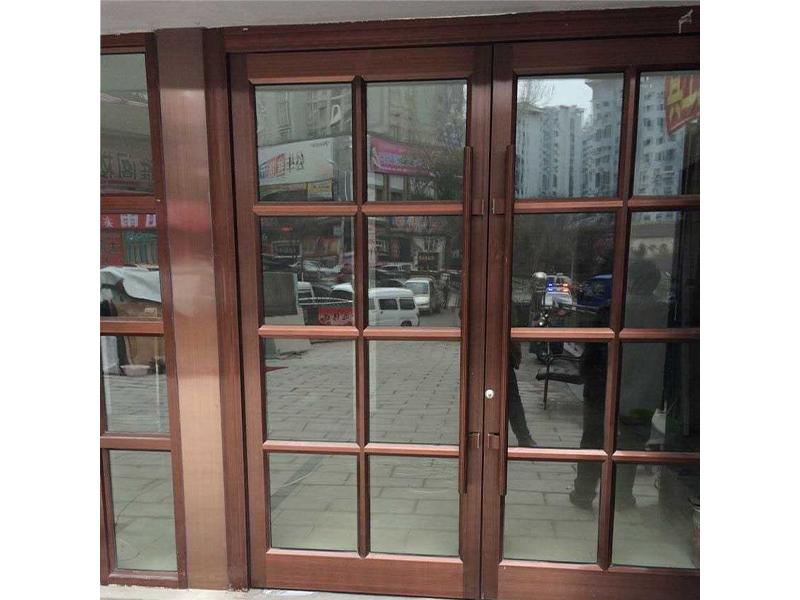 本溪白钢门|本溪肯德基门|本溪温特门【鑫宏门窗】优质的白钢门供应商