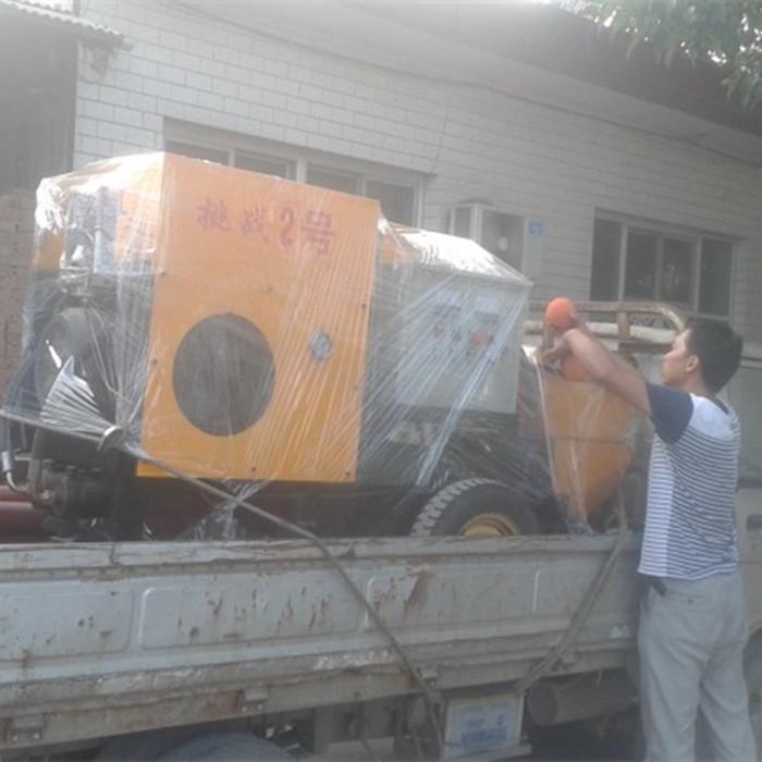 二次结构灌浆泵 挑战2号成功发往贵州六盘水