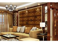 浙江皮雕电视背景墙,杭州哪里有背景墙软包