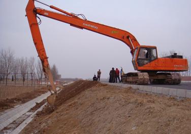 山东有加长臂挖掘机出租,价格优惠,服务周到