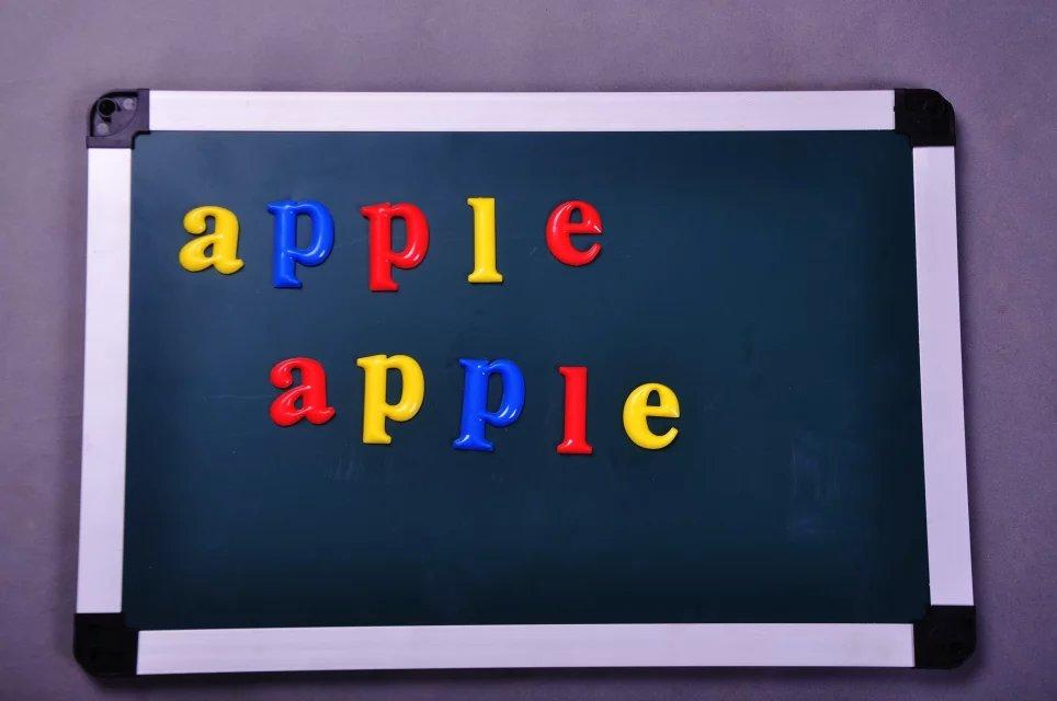 儿童益智磁吸字母