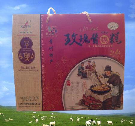 中秋礼盒—玫瑰酱糗糕
