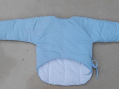 新生儿保暖半背出生衣