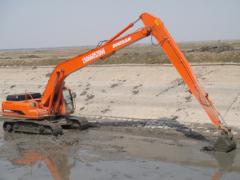 上等加长臂挖掘机亿捷供应 价位合理的加长臂挖掘机