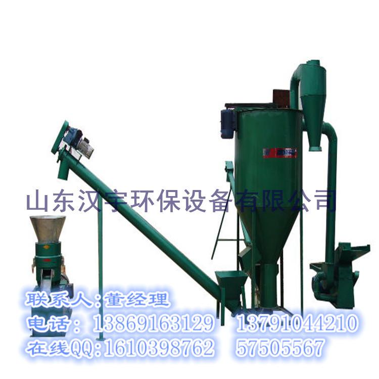 【推薦】山東漢宇環保設備出售飼料顆粒機生產線:寧夏飼料顆粒機生產線