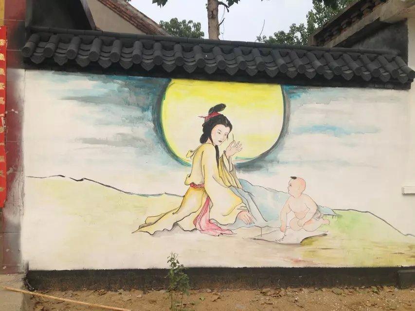 山东城市文化墙彩绘工程