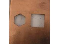 想找服务好的激光切割加工当选鼎先激光切割|激光切割铜板
