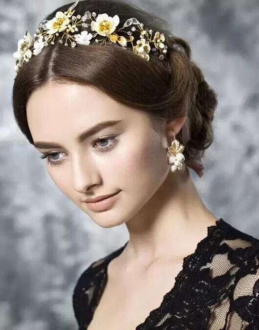 复古巴洛克新娘造型,女王范儿就是这么华丽丽!【依菲工作室】图片