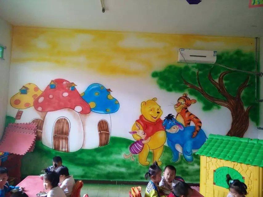 幼儿园墙体彩绘壁画