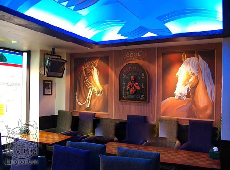 济南专业墙体彩绘哪里找,千余款墙绘素材等你挑!