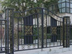 铁艺大门价格_哪家的铁艺大门绿化铁艺栏杆质量好