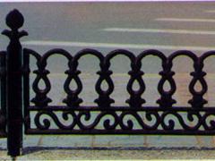 铁艺大门绿化铁艺栏杆优选泰安金星铁艺价格公道——铸铁栏杆价格