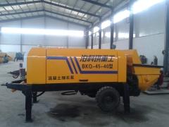 农建专用小型细石混凝土输送泵厂家-河北泊科琪重工厂家直销